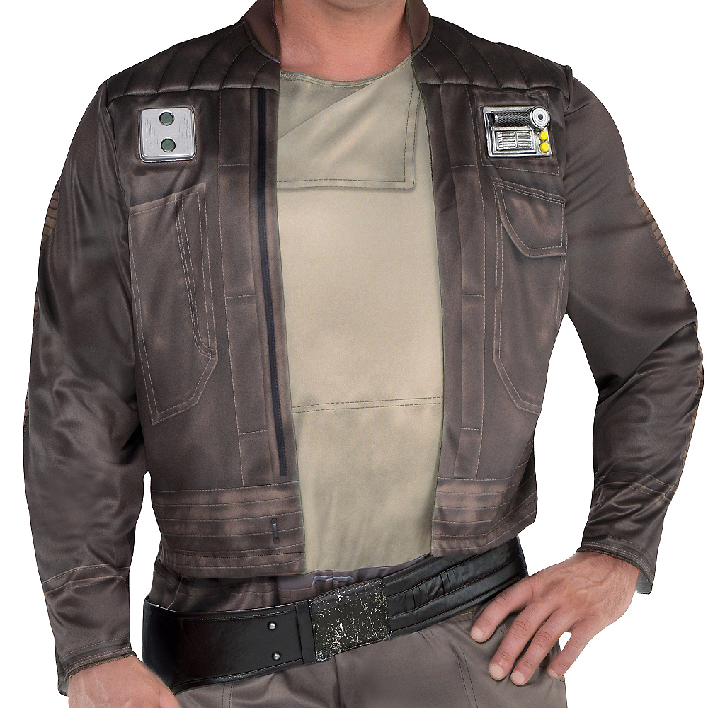 Adult Cassian Andor Costume Plus Size - Star Wars Rogue One Image #2