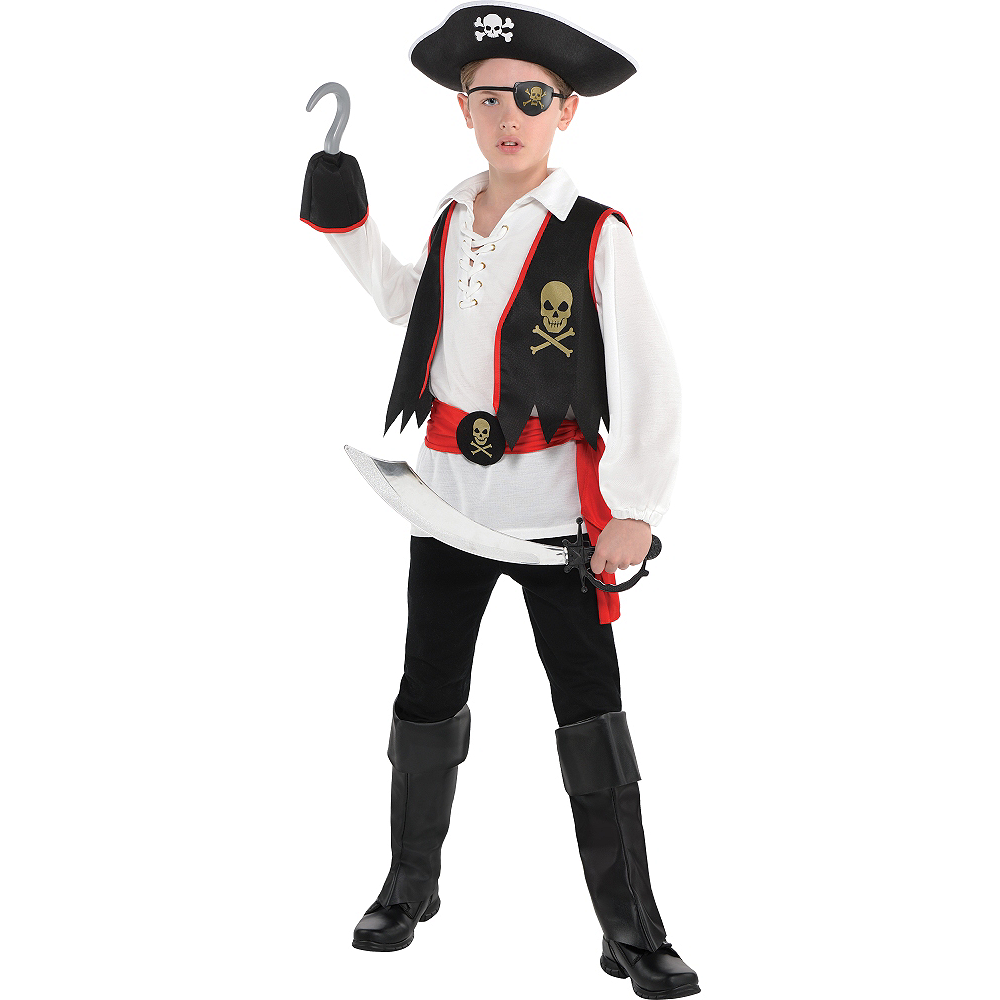 Boys Pirate Costume Image #1