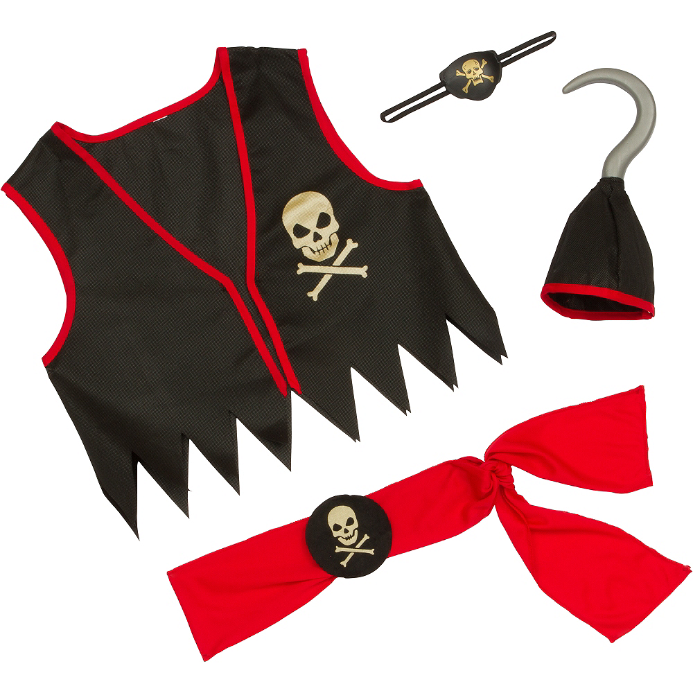 Boys Pirate Costume Image #3