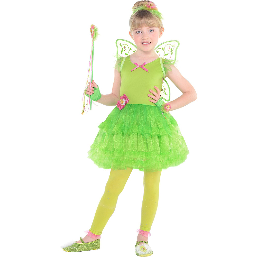 0c88f5d0dee ... Girls Tinker Bell Costume - Peter Pan Image  2 ...