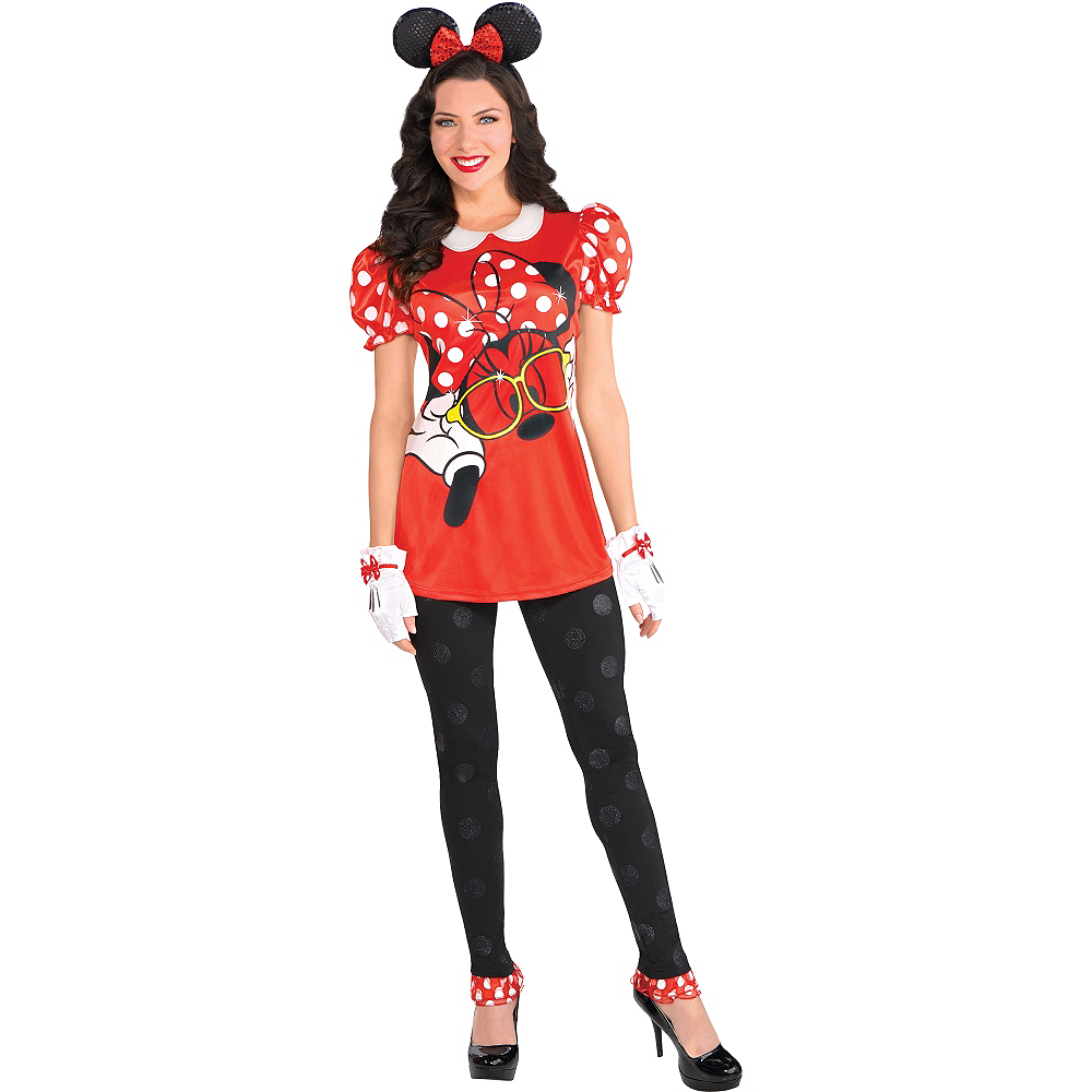 Adult Minnie Mouse Costume Image  1 ... 9b7ee707f