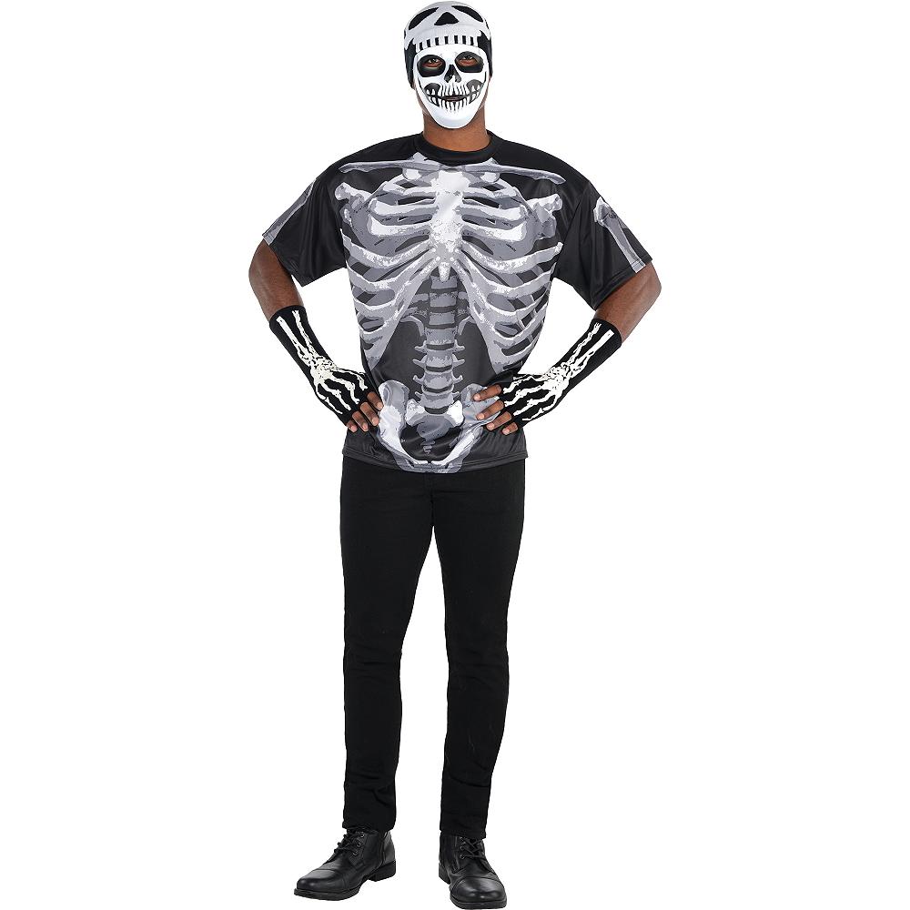Adult Skeleton Costume Image #1