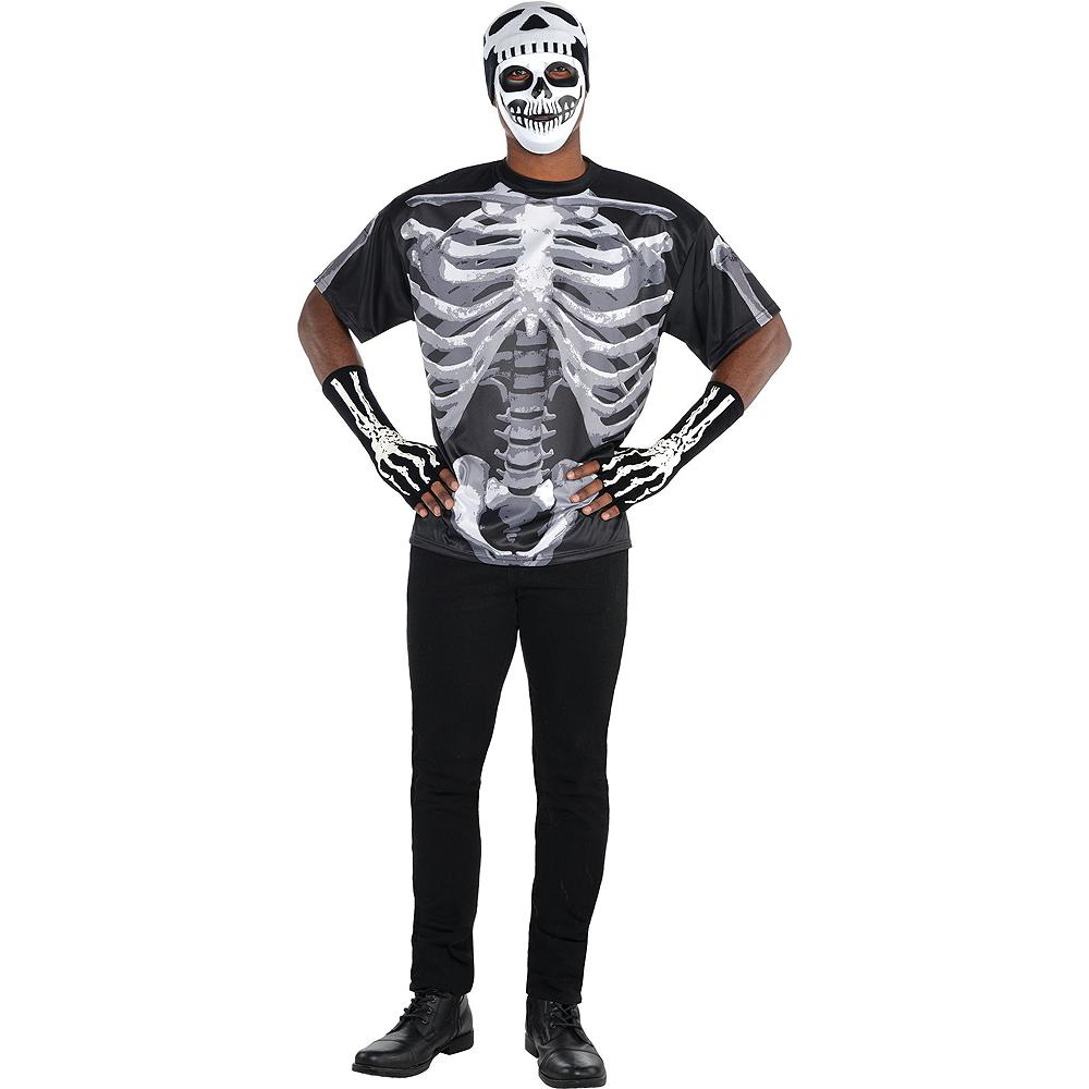 Adult Skeleton Costume Image #2