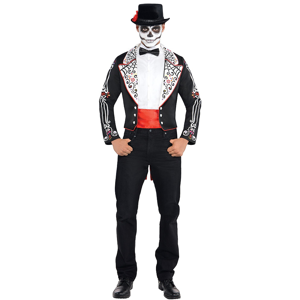 Adult Day of the Dead Costume Image #2