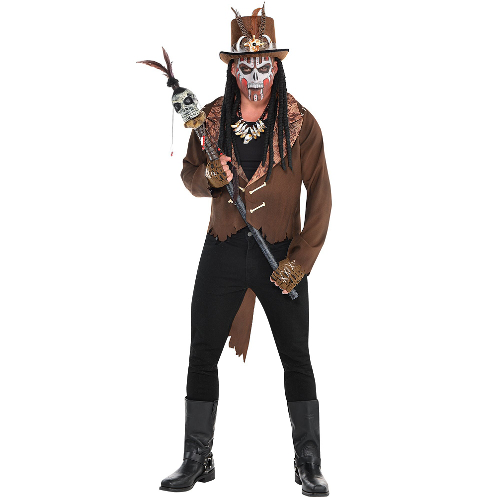 Adult Witch Doctor Costume Premier Image #2