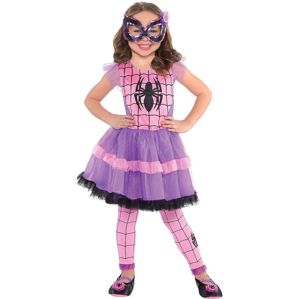 3c31b12e68a9 Girls Spider-Girl Costume Image #1 ...