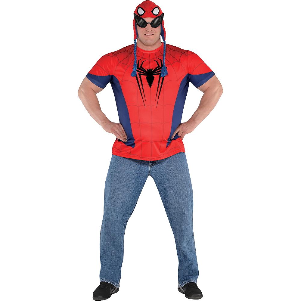 Adult Spider-Man Costume Plus Size Image #1