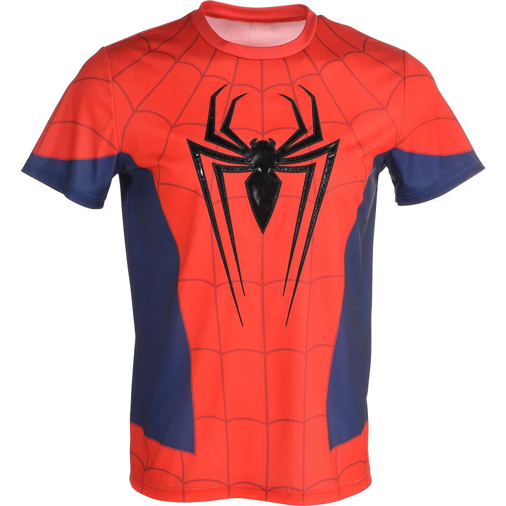 Adult Spider-Man Costume Plus Size Image #4