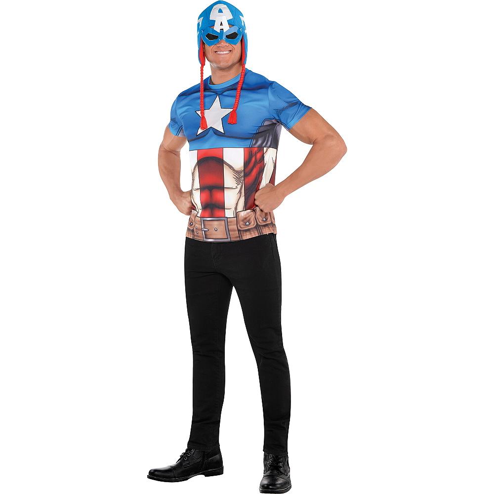 Adult Captain America Costume Image #1