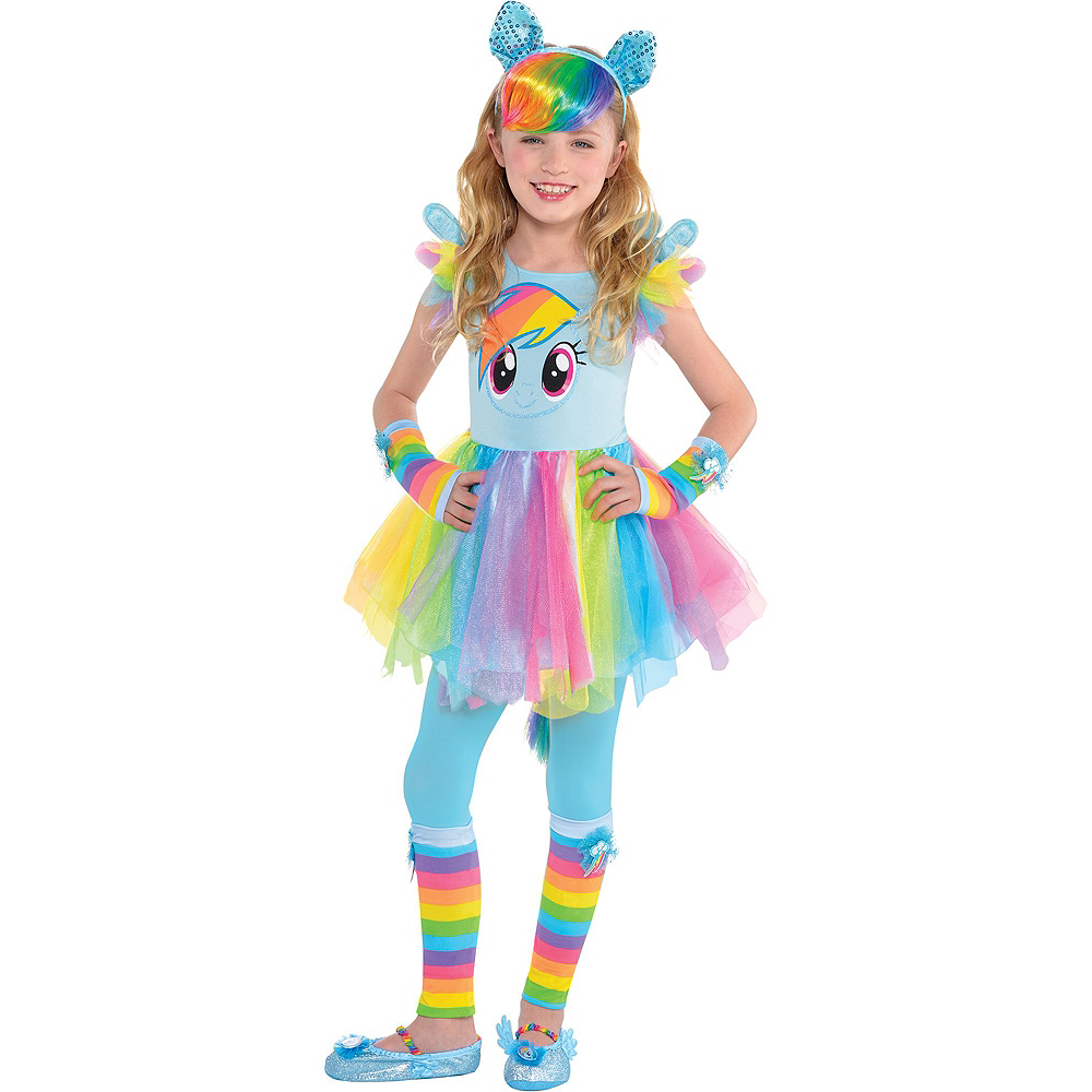 Rainbow Dash Deluxe Child Costume My Little Pony