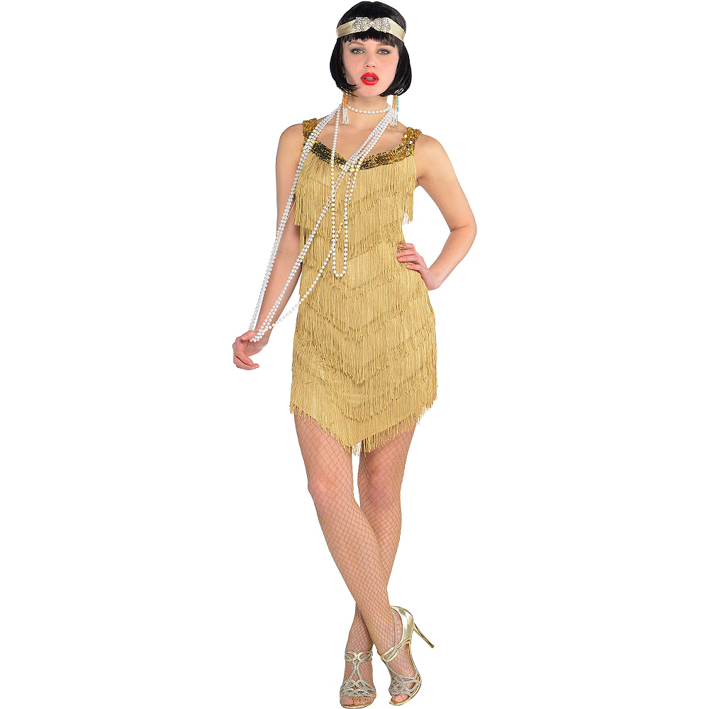 Adult Flapper Costume Image #1