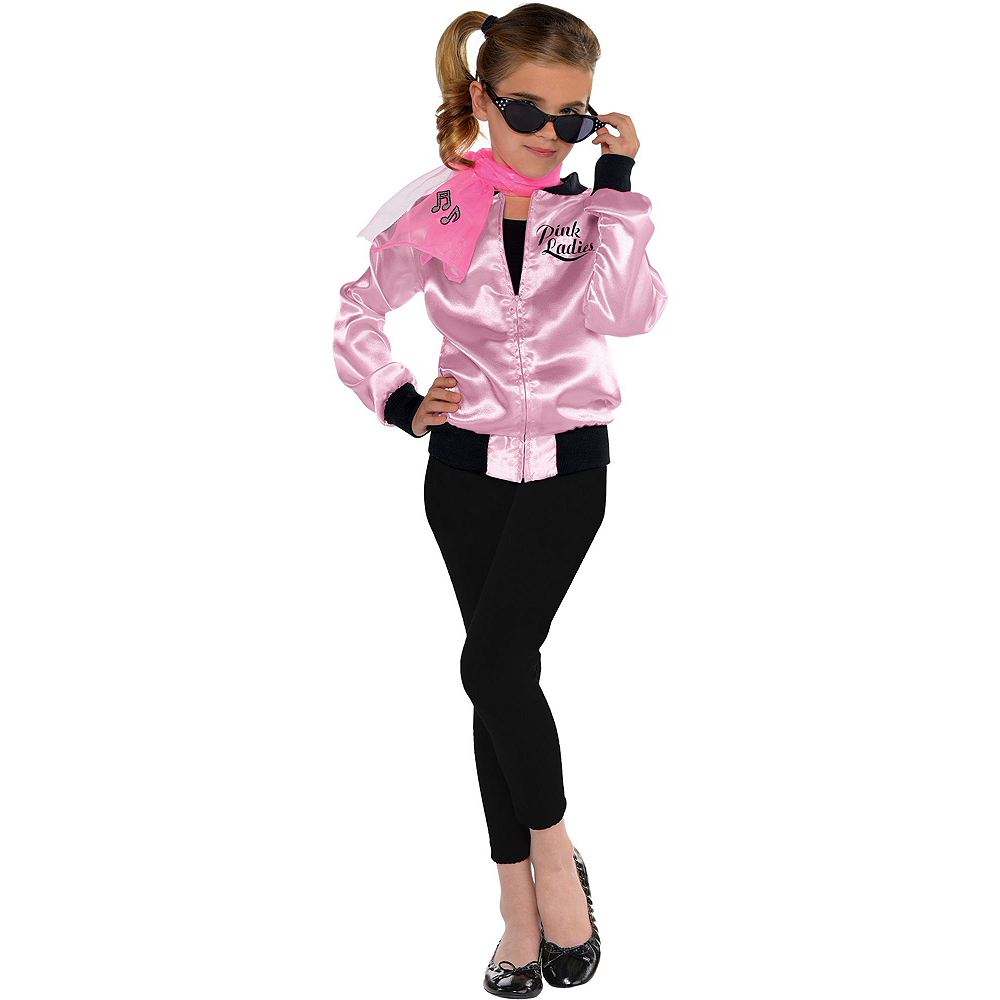 6e46d9b37506 ... Girls Pink Ladies Costume Image  2 ...