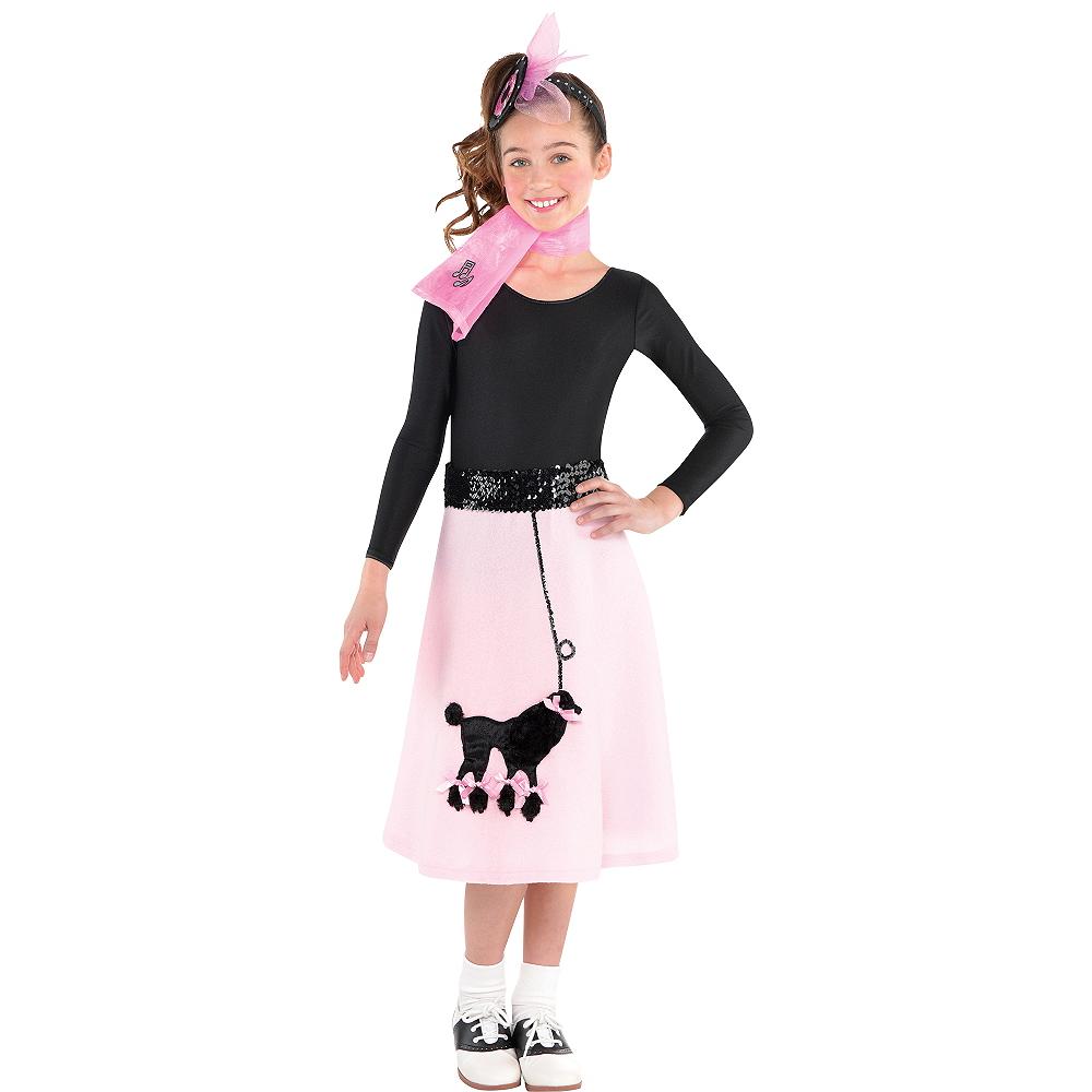 Girls Poodle Skirt Costume Image #1