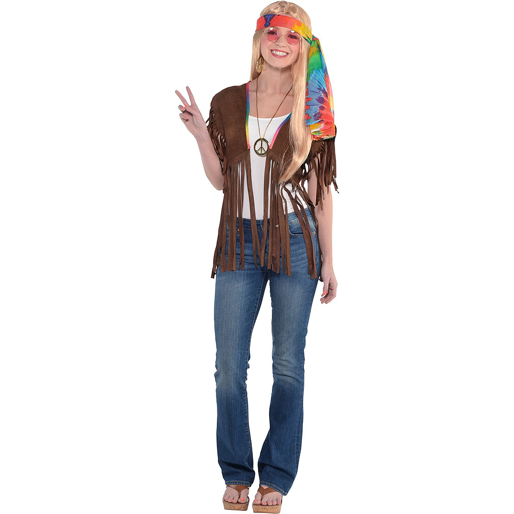 Adult Hippie Costume Image #2