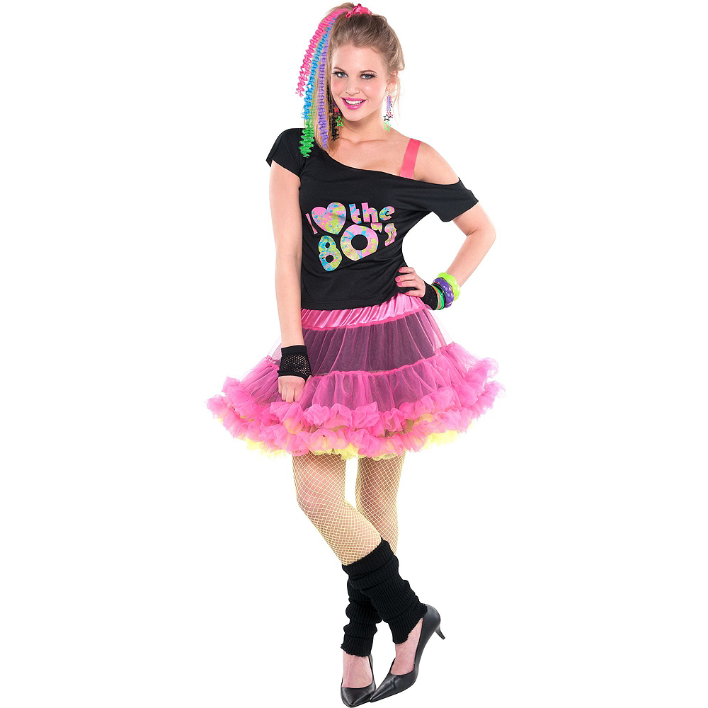 ca343f8577e ... Adult 80s Valley Girl Costume Deluxe Image  2 ...