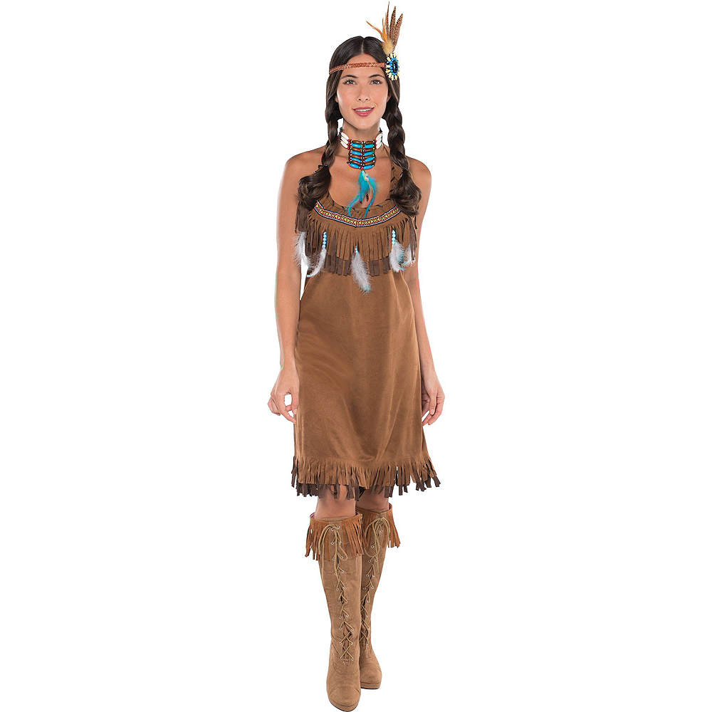 Adult Native American Costume Image #2