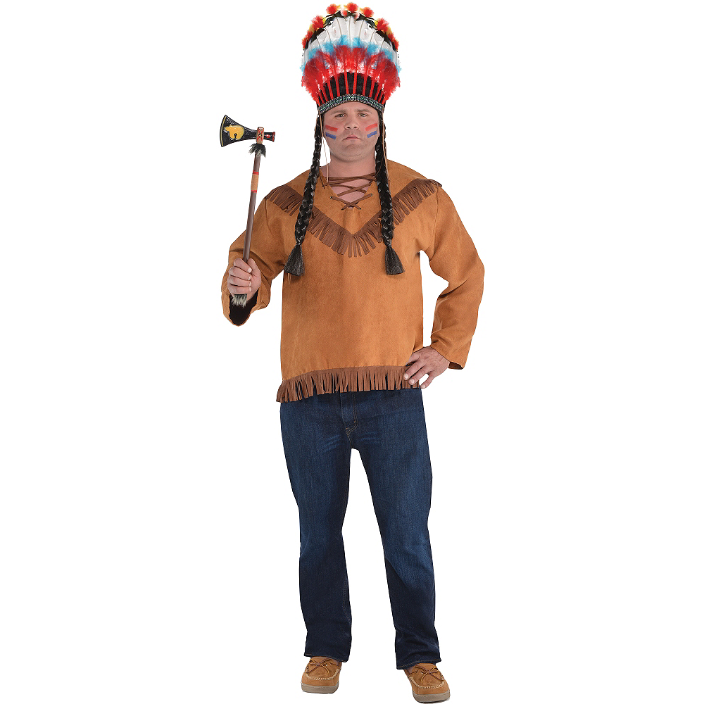 Adult Native American Costume Plus Size Image #1