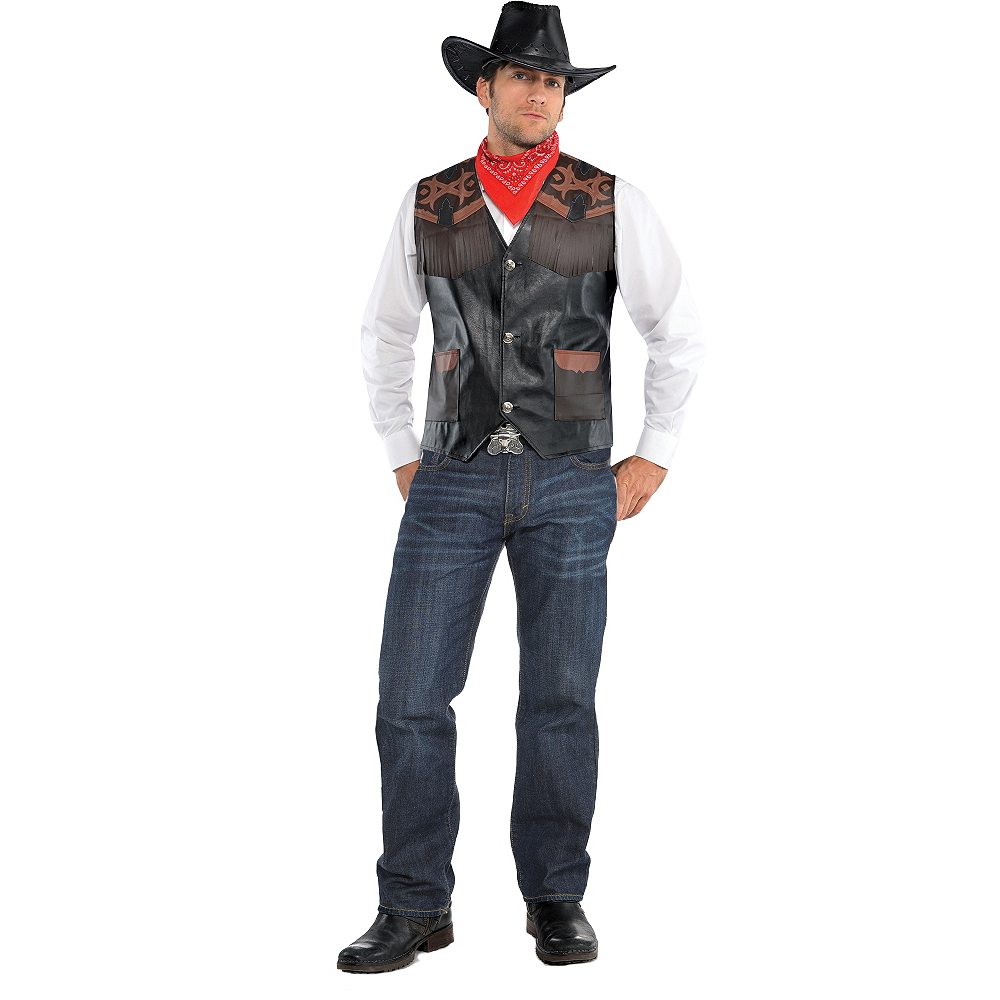 Adult Cowboy Costume Image #1