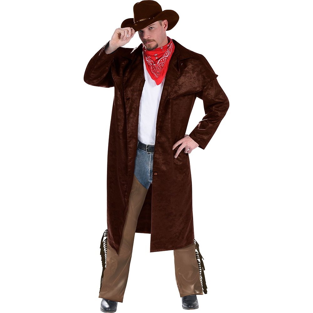 Adult Cowboy Costume Deluxe Image #2