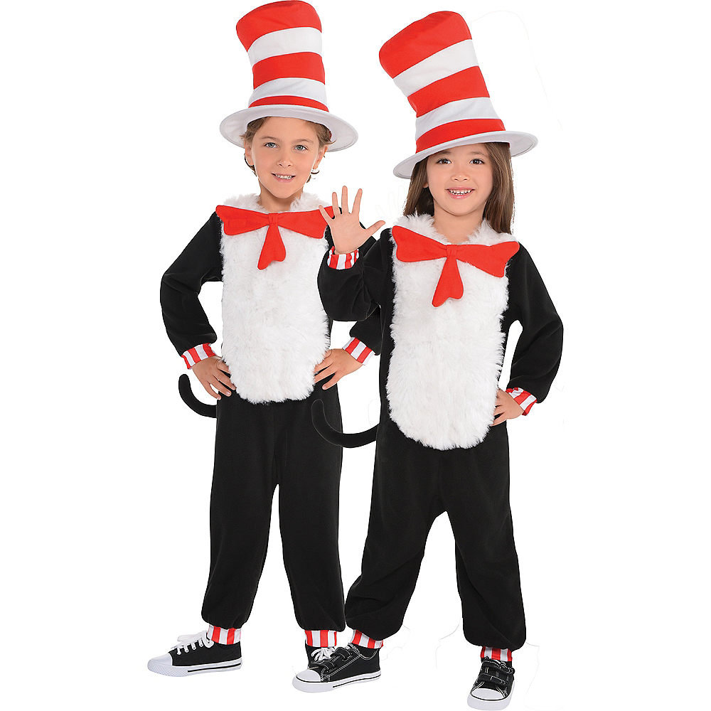 Toddler Cat in the Hat One Piece Costume - Dr. Seuss | Party City