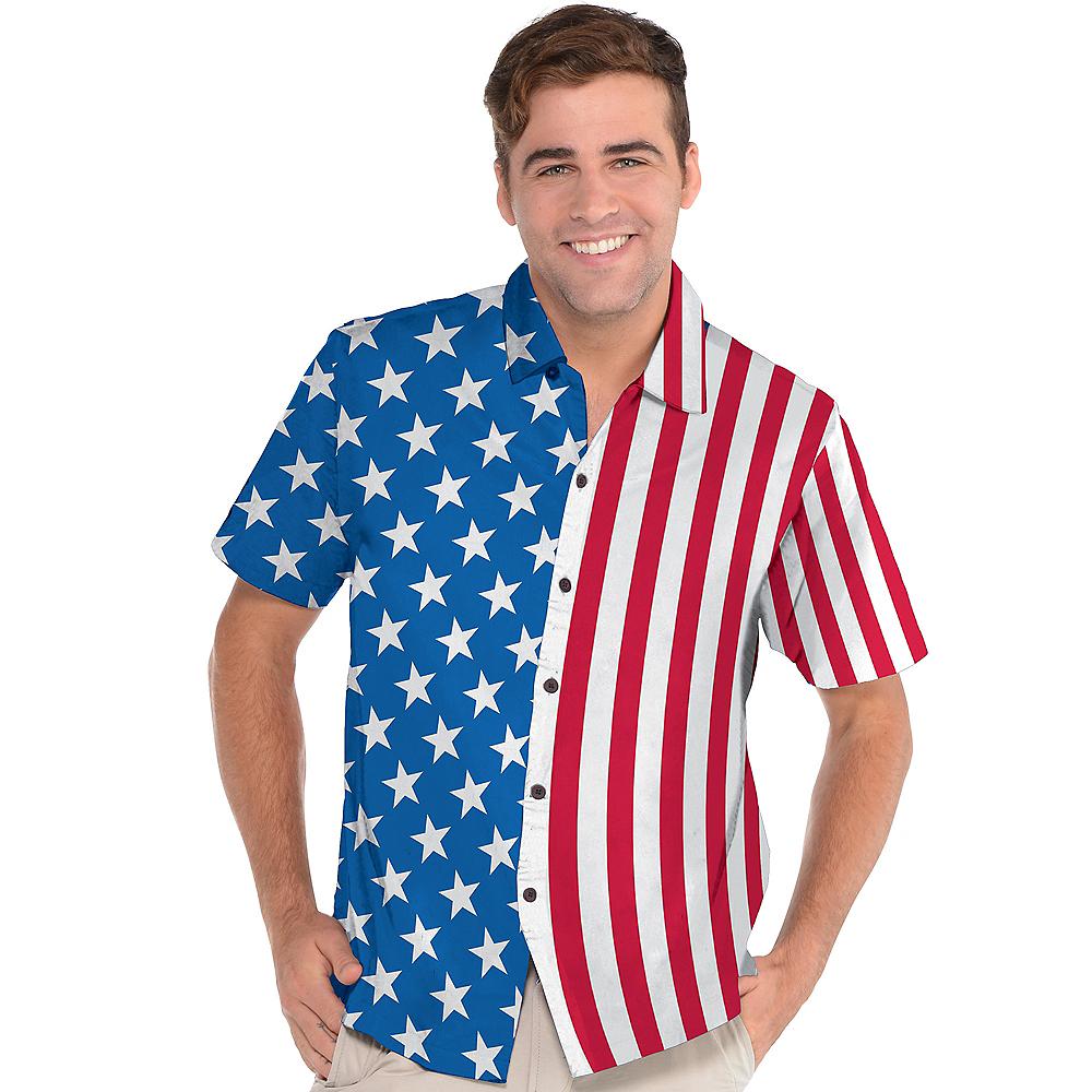 Patriotic American Flag Shirt Image #2