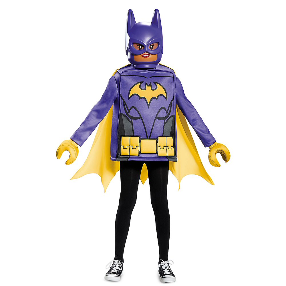 Girls Lego Batgirl Costume - Lego Batman Movie Image #1