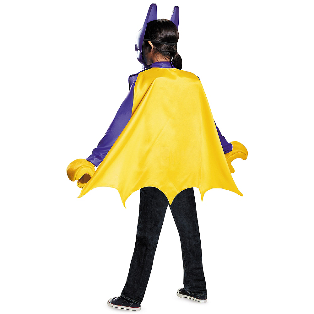 Girls Lego Batgirl Costume - Lego Batman Movie Image #2