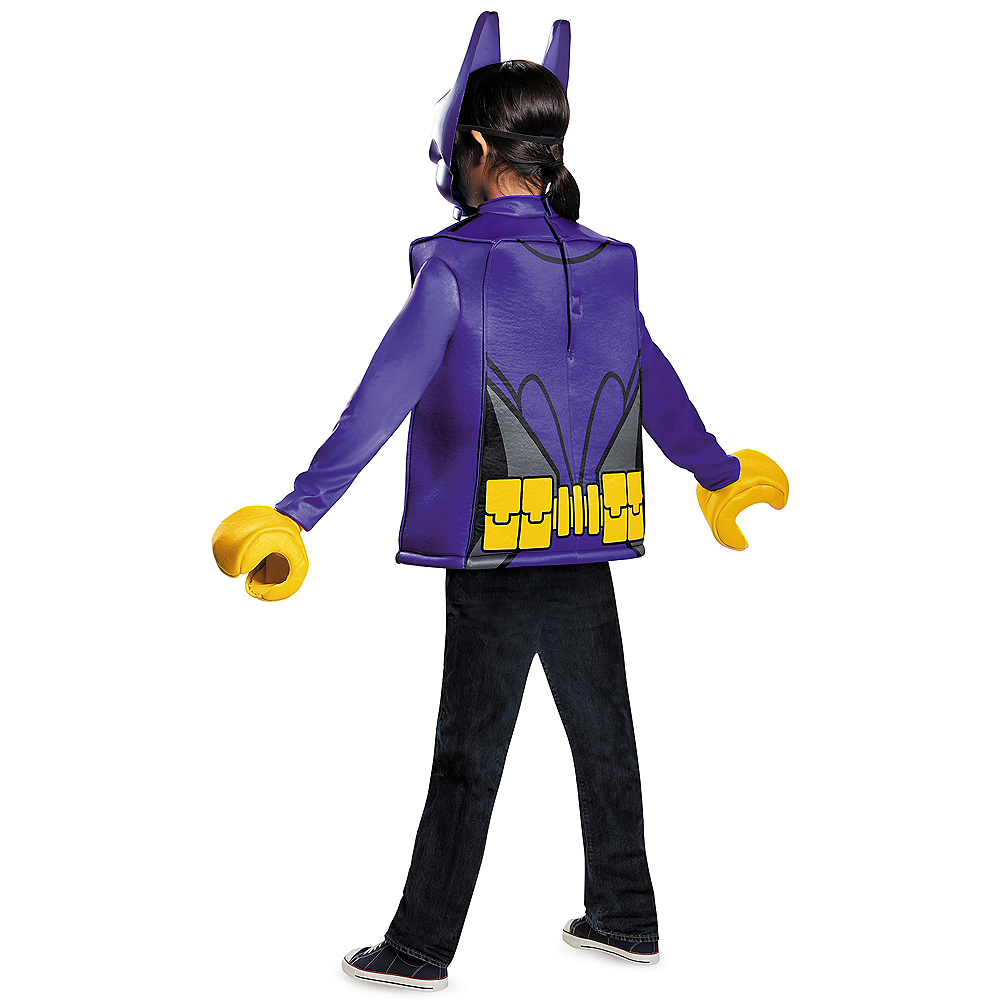 Girls Lego Batgirl Costume - Lego Batman Movie Image #3