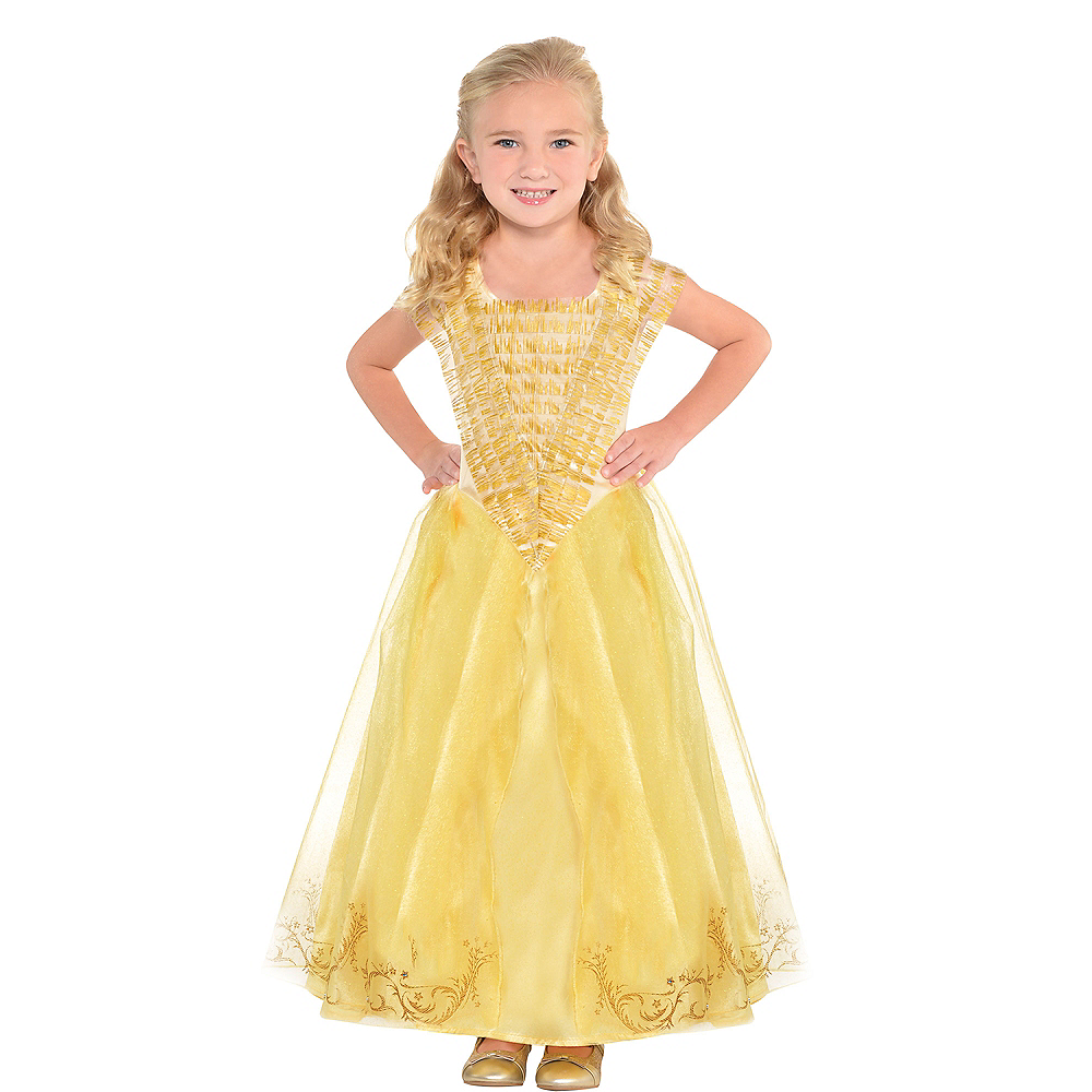 Girls Belle Costume Supreme - Beauty and the Beast Image #1