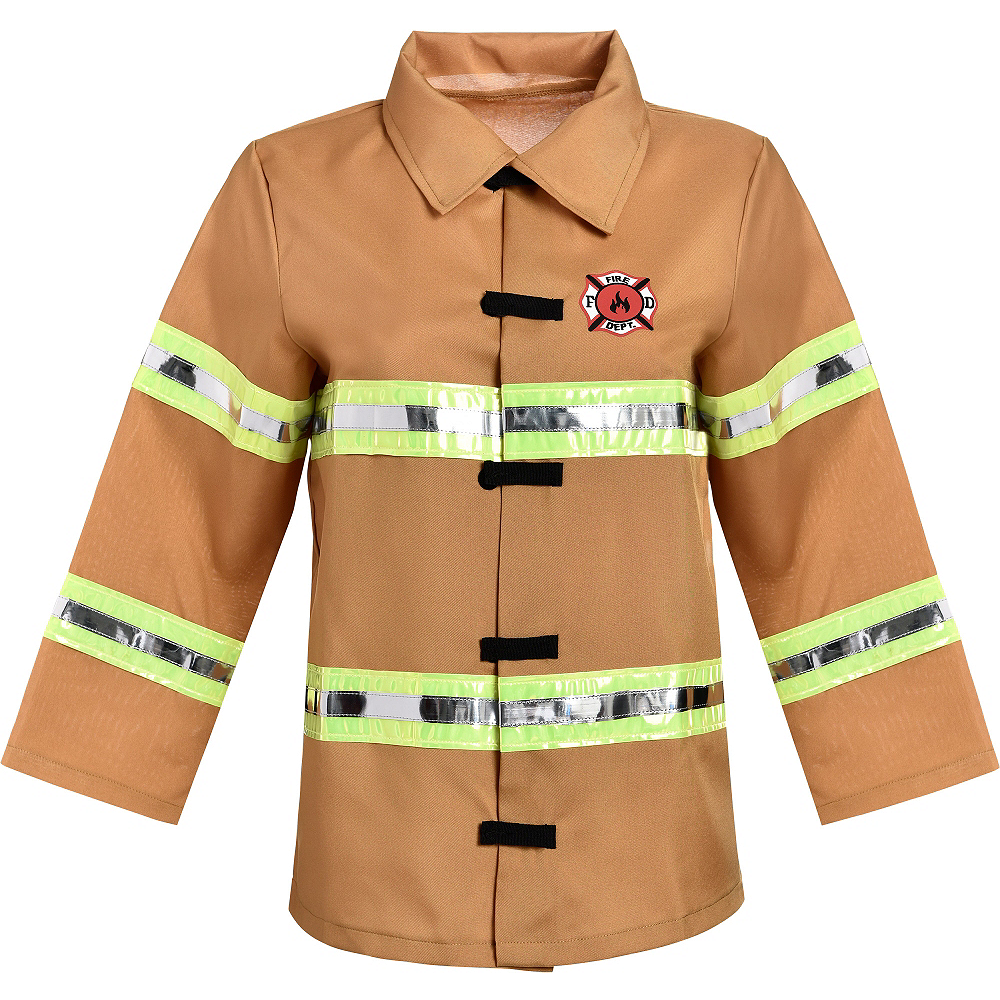 Boys Firefighter Costume Image #3