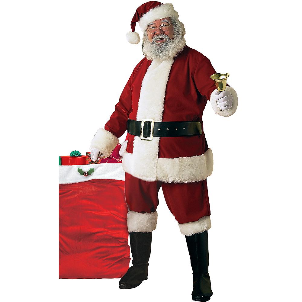 2d2b243d9e722 Adult Ultra Velvet Santa Suit Costume Image  1 ...
