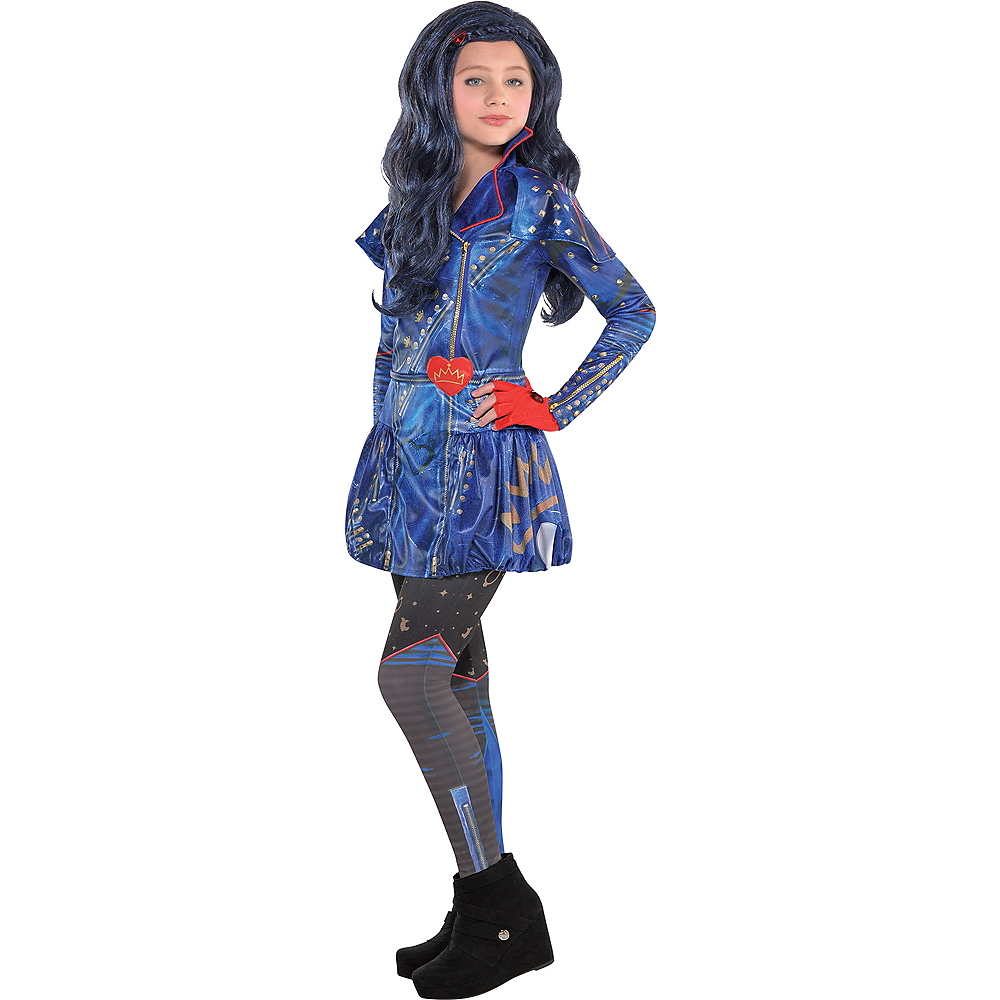 Nav Item for Girls Evie Costume - Disney Descendants 2 Image #1