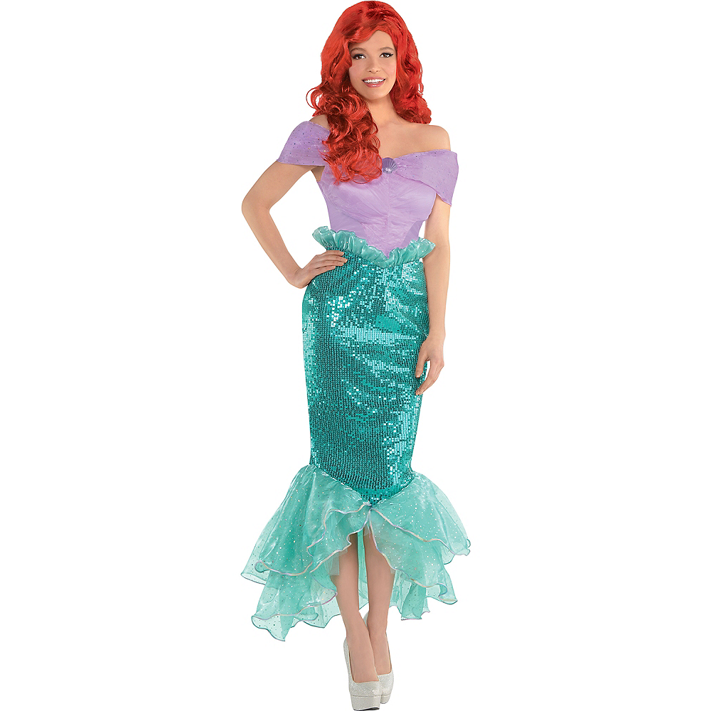 Adult Ariel Costume - The Little Mermaid Image #1