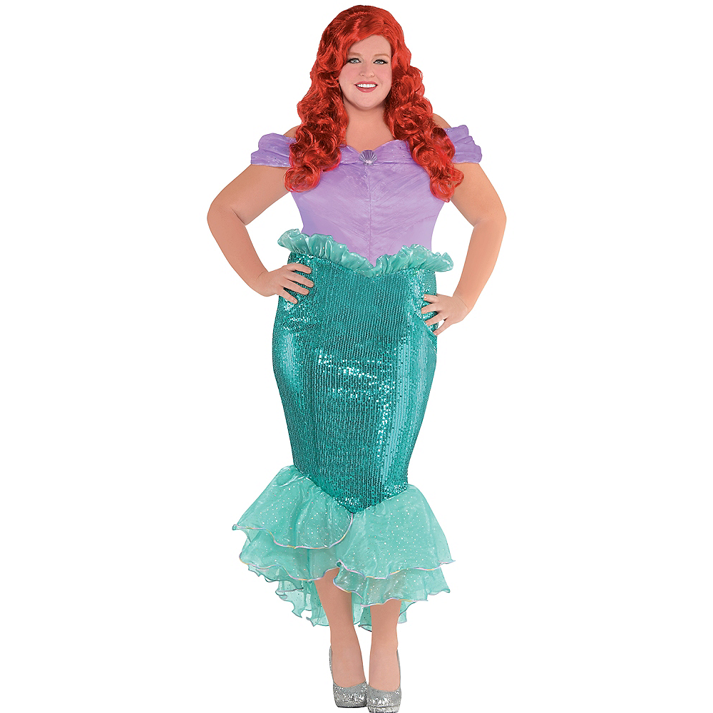 little mermaid costume naked