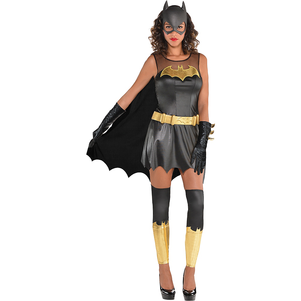 Nav Item for Womens Batgirl Costume - Batman Image #1
