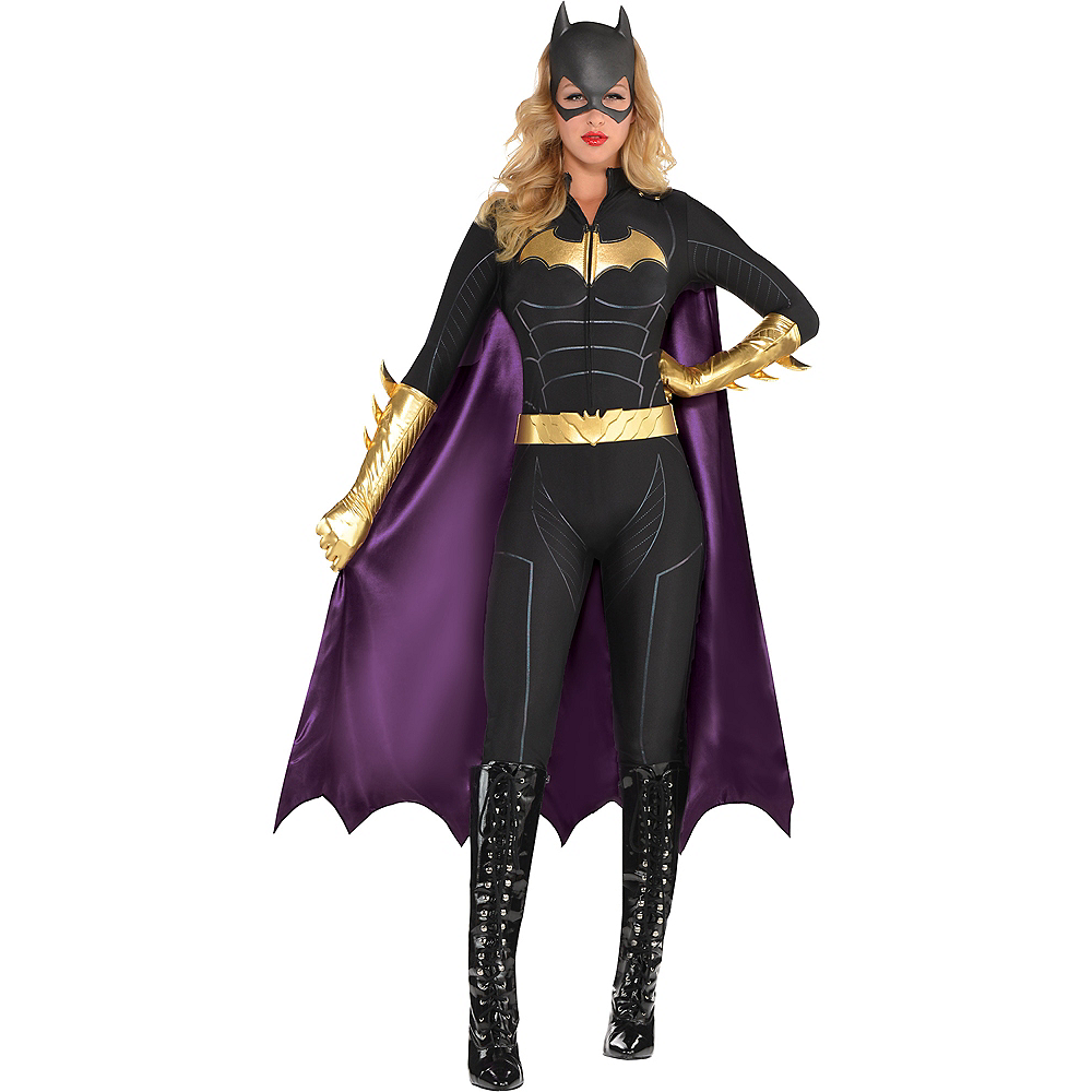 Womens Batgirl Jumpsuit Costume - Batman Image #1