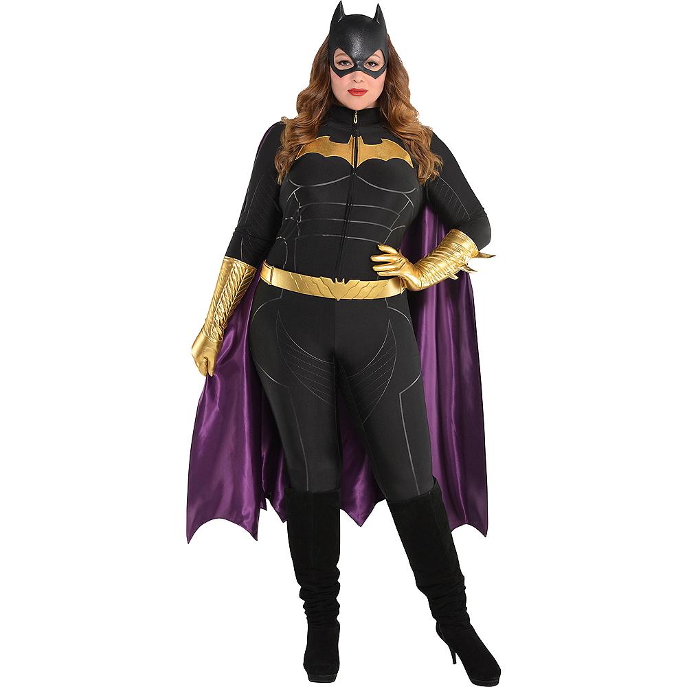Adult Batgirl Jumpsuit Costume Plus Size - Batman Image #1