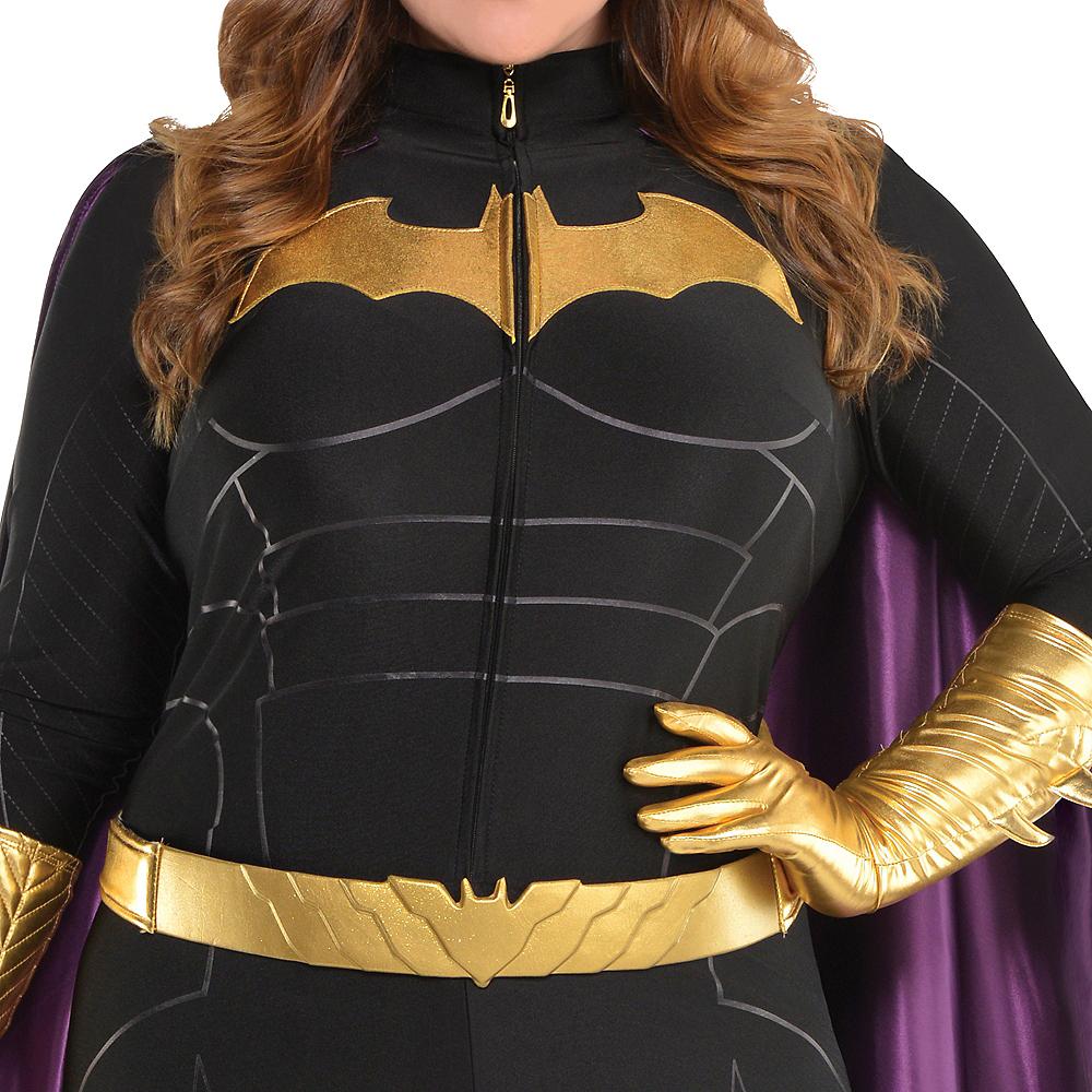 Adult Batgirl Jumpsuit Costume Plus Size - Batman Image #3