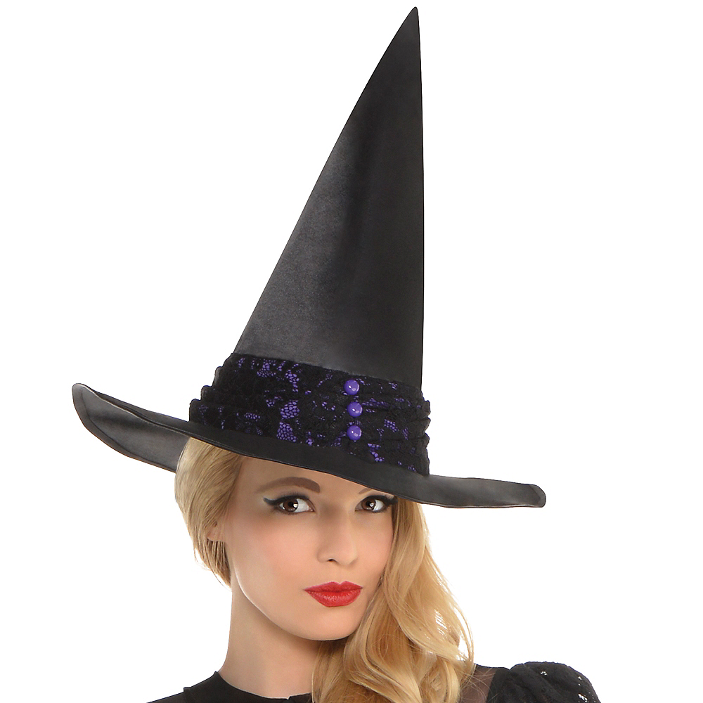 Adult Black Magic Witch Costume Image #2