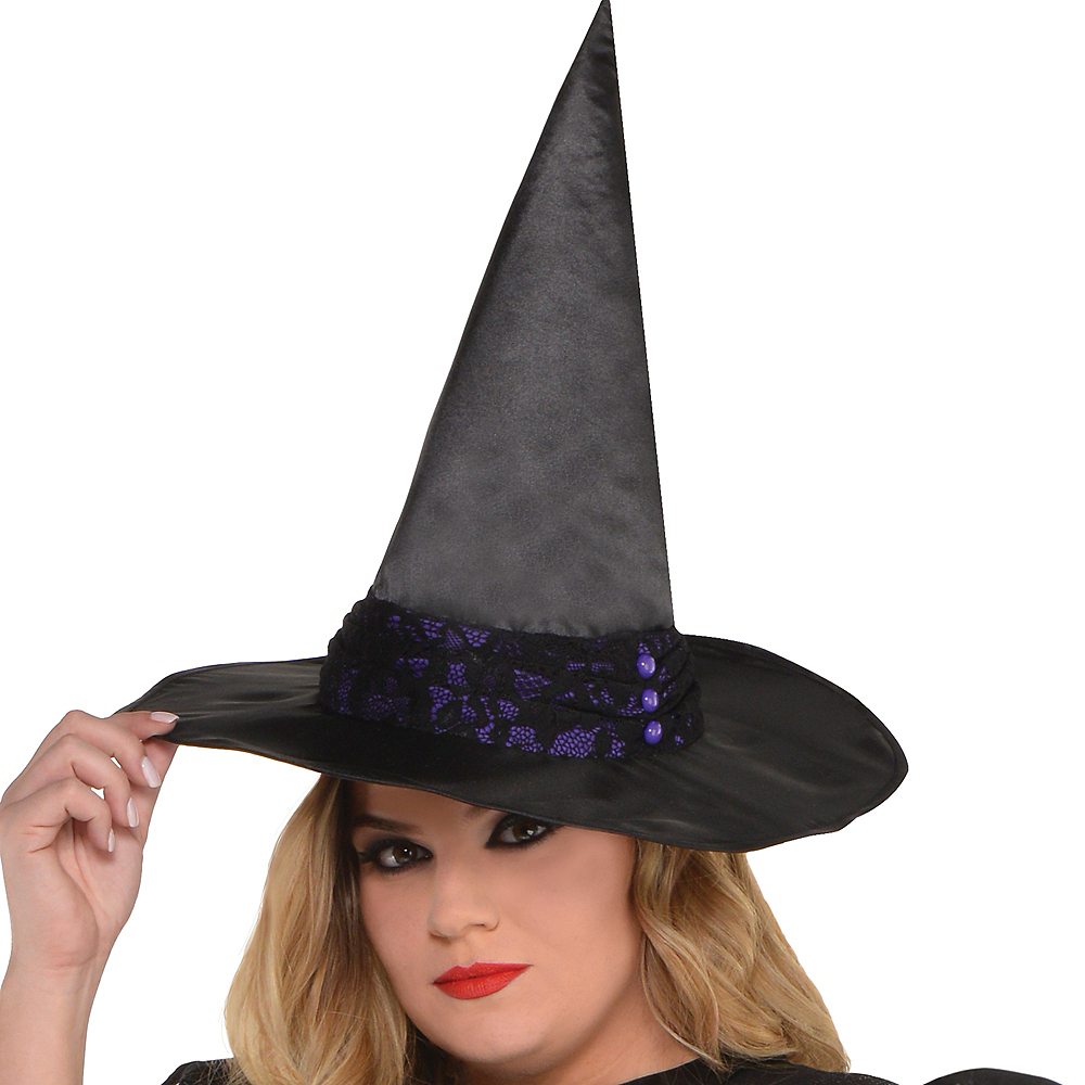 Adult Black Magic Witch Costume Plus Size Image #2