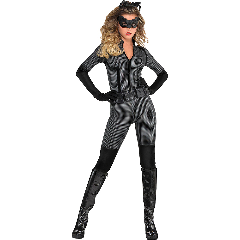 Adult Catwoman Costume - The Dark Knight Rises Batman Image #1