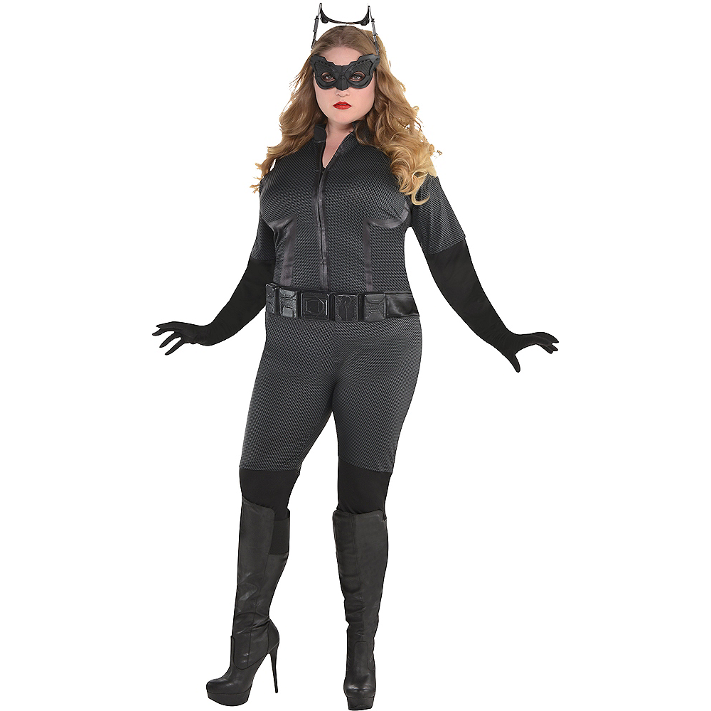 Adult Catwoman Costume Plus Size - The Dark Knight Rises Batman