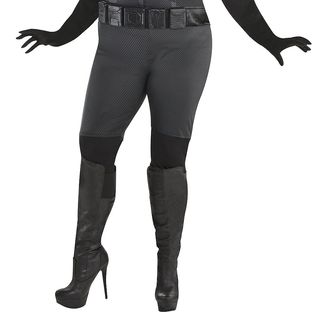 Adult Catwoman Costume Plus Size - The Dark Knight Rises Batman Image #4
