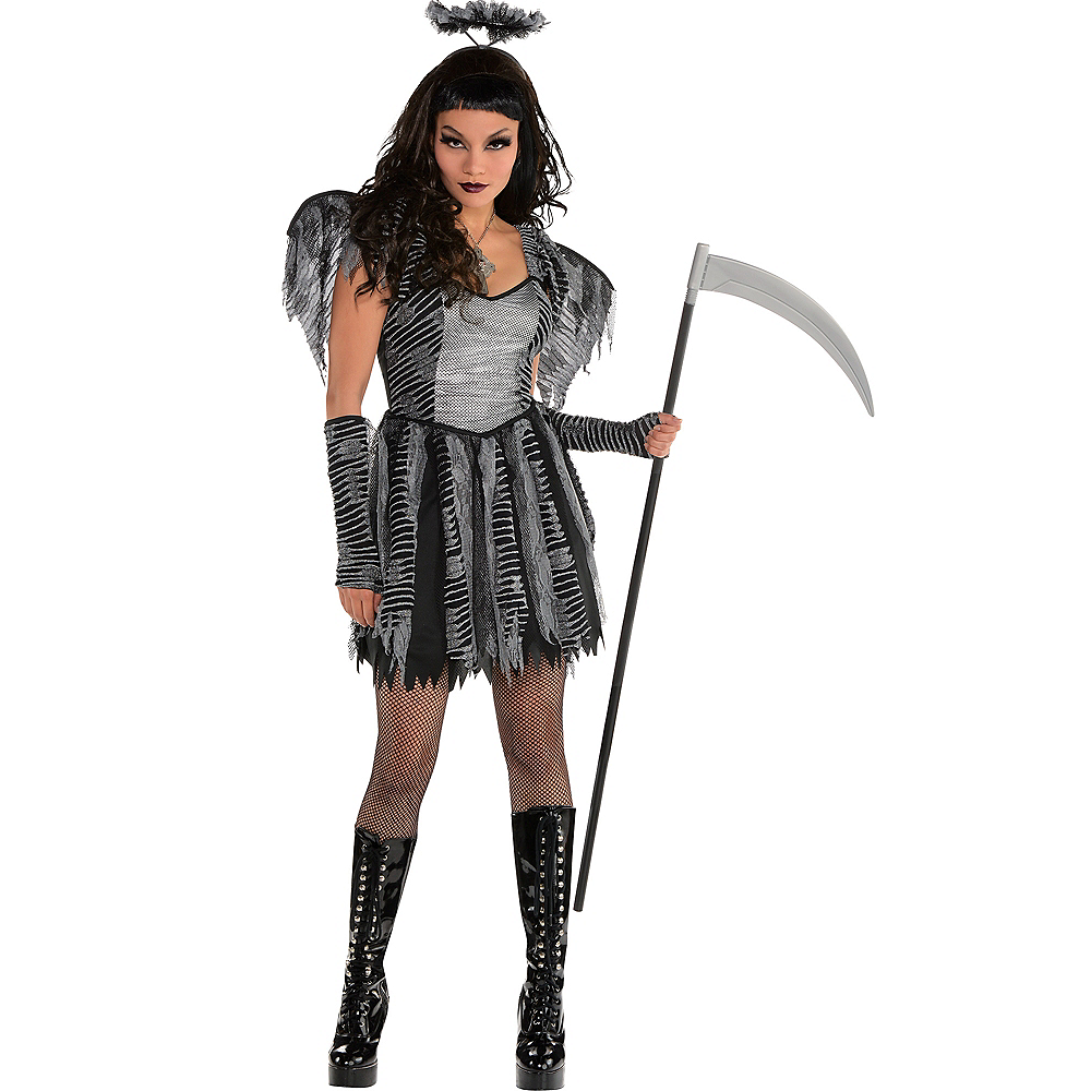 Adult Dreadful Angel Costume Image #1