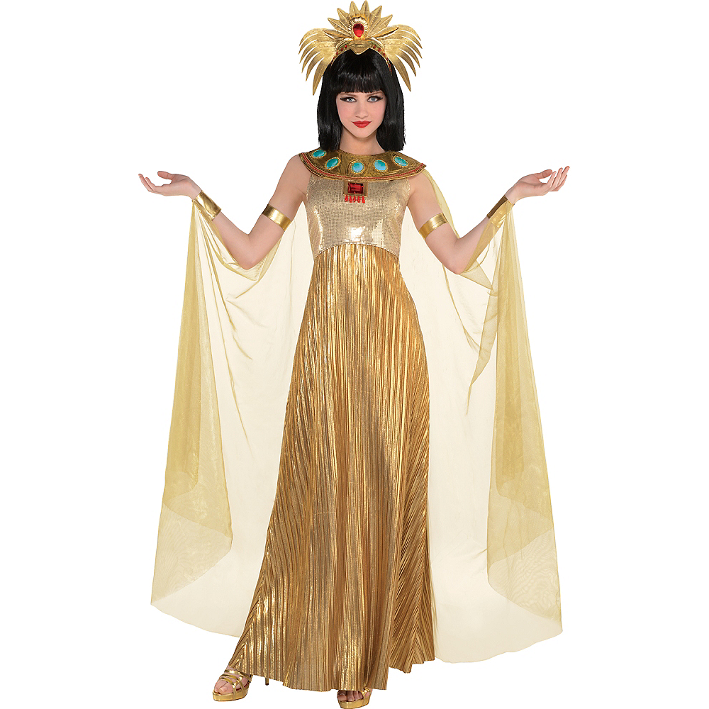Adult Golden Cleopatra Costume