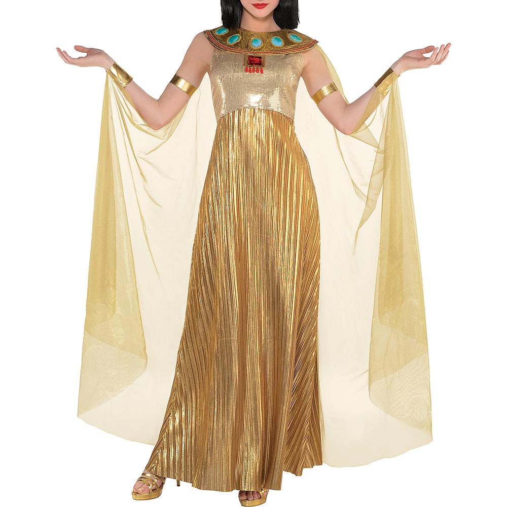 Adult Golden Cleopatra Costume Image #5