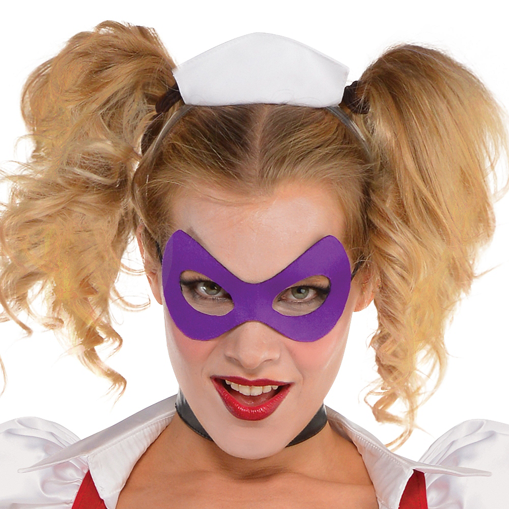 Nav Item for Adult Harley Quinn Costume - Arkham Asylum Image #2