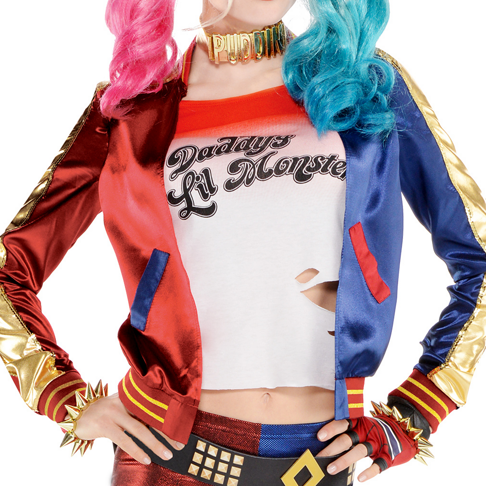Adult Property of Joker Harley Quinn Costume - Suicide Squad Image #5