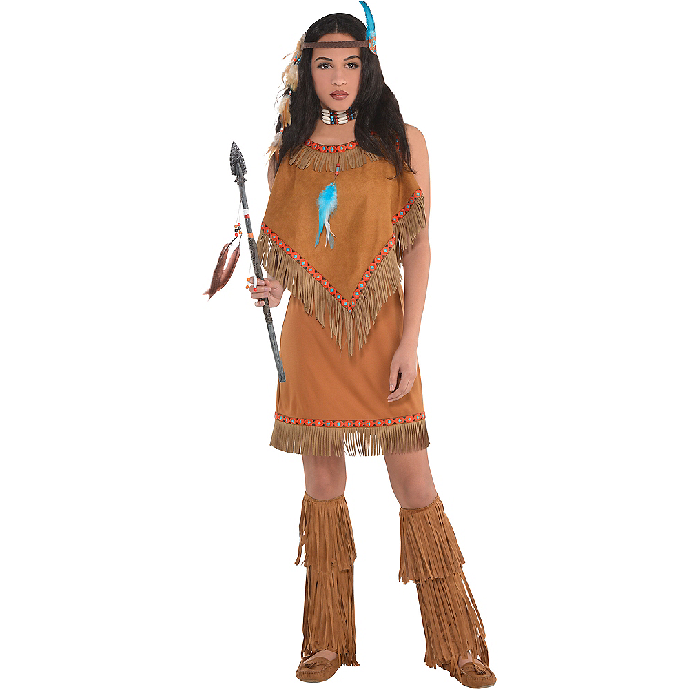 Adult Native American Princess Costume Image #1