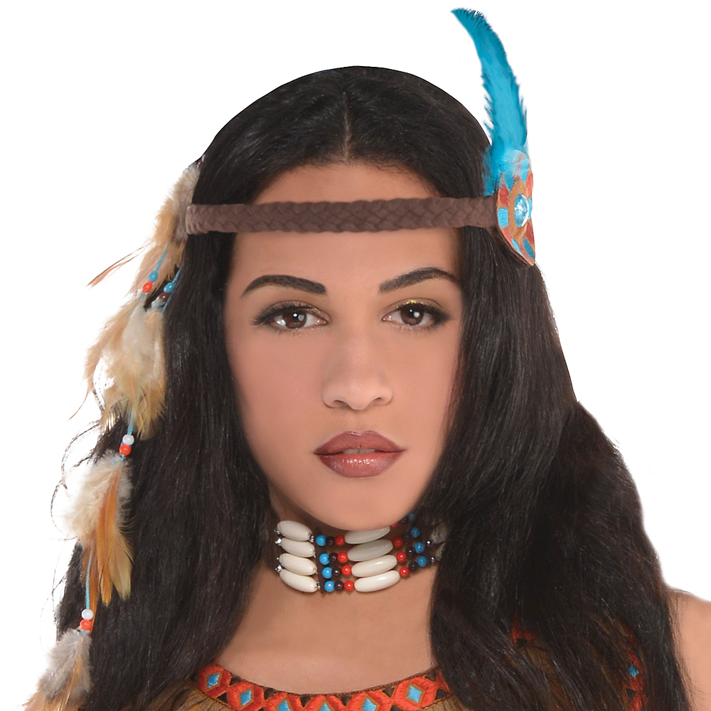 Adult Native American Princess Costume Image #2